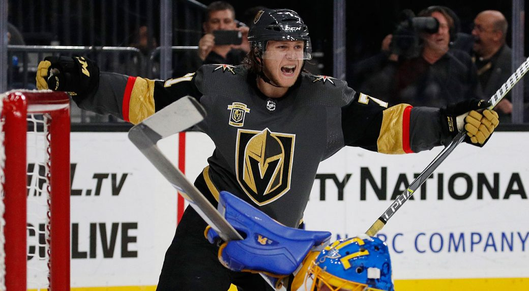 William Karlsson arrives in a big way for Golden Knights - Sportsnet.ca deb4b6060