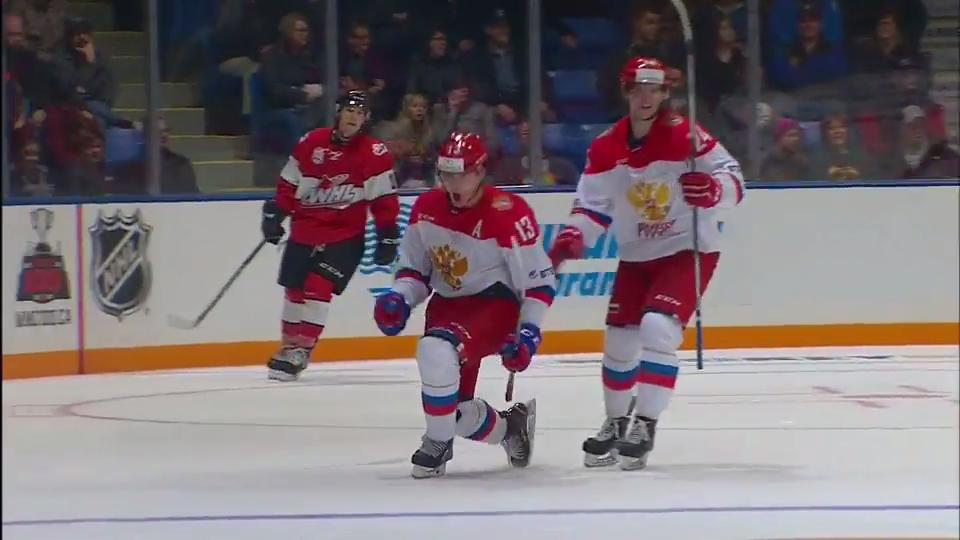 WHL: Maltsev Leads Russian Rally Over League's All-stars At CIBC Super Series