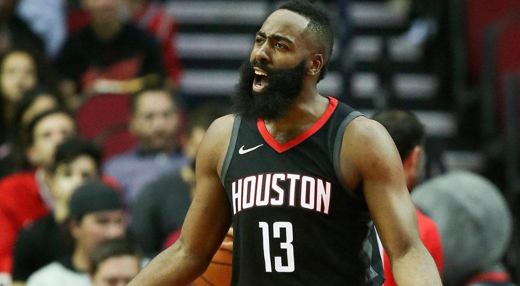 9c0673420ed4 Rockets  James Harden out at least 2 weeks with hamstring strain. Houston  Rockets guard ...