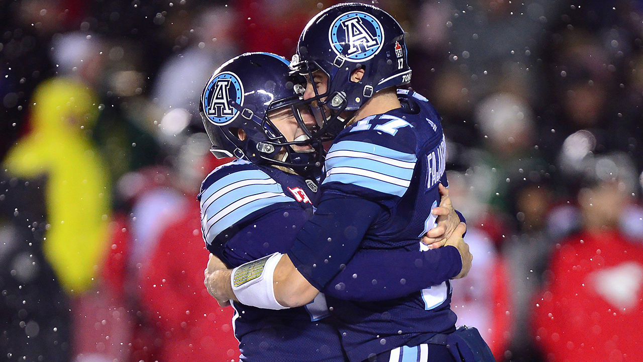 Argonauts come back to win 105th Grey Cup over Stampeders