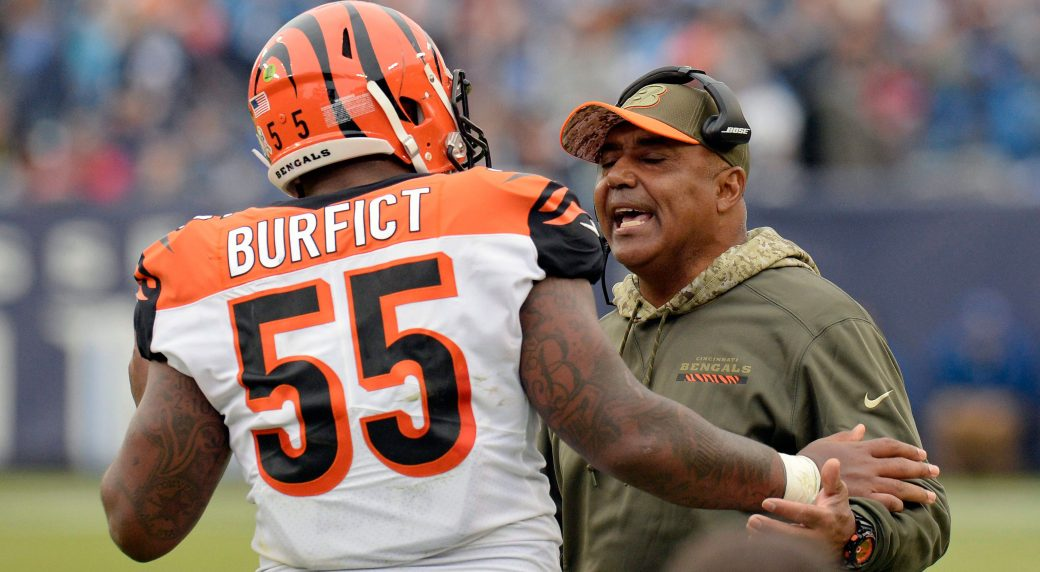National Football League  warns Vontaze Burfict a suspension could be next