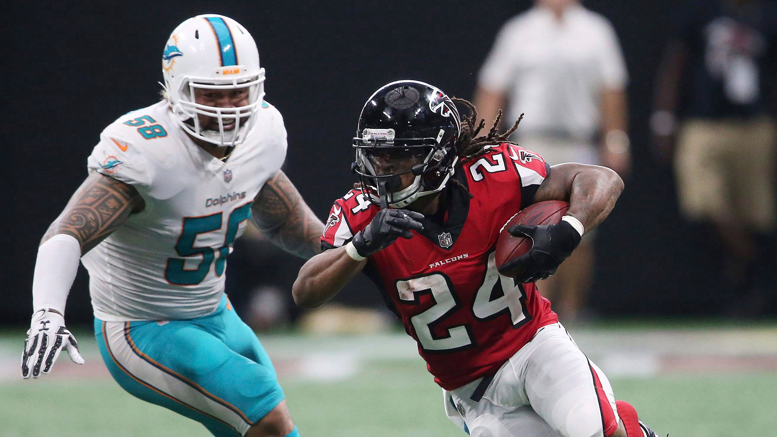 Falcons' Freeman could miss another game with concussion