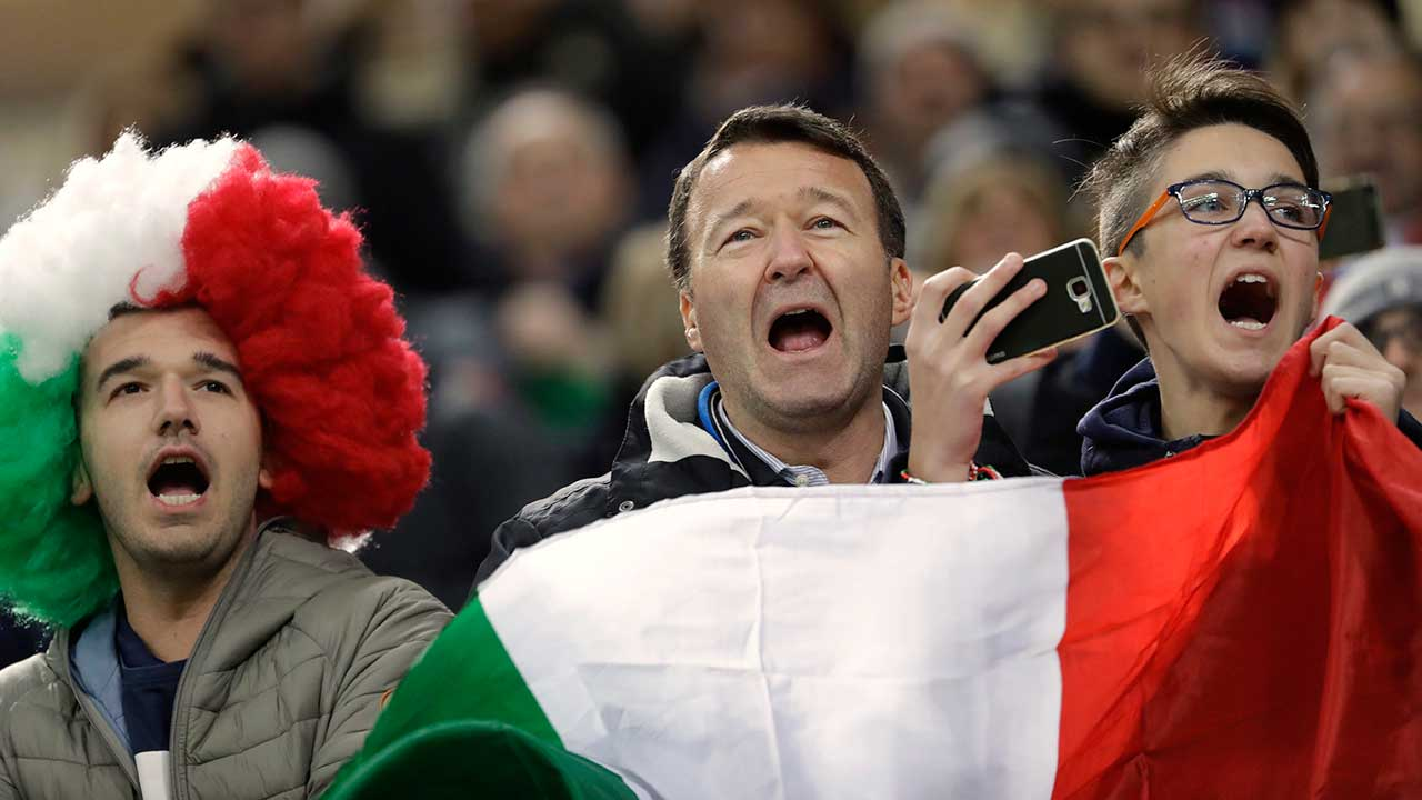 The unbearable shame of Italian soccer fans