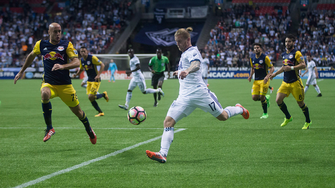 De Jong wants more offence from Whitecaps in 2nd leg vs. Seattle