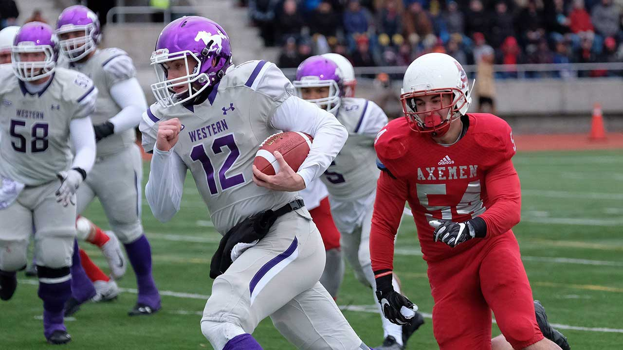 Uteck Bowl: Mustangs rout Axemen 81-3 to make Vanier Cup