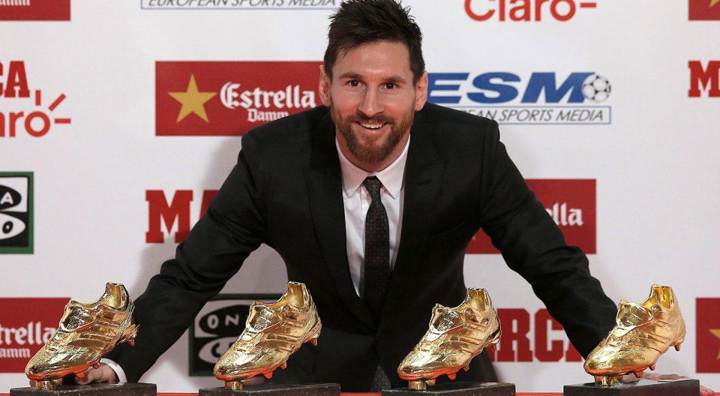 Image result for lionel messi golden shoe