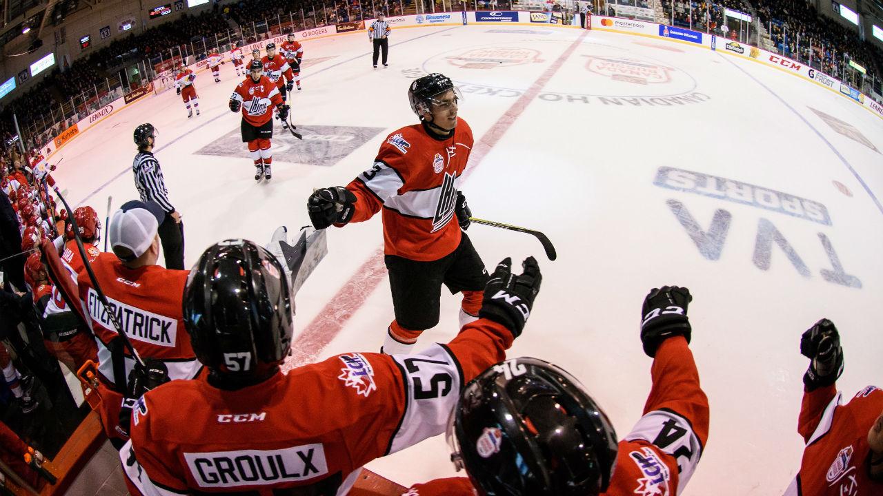 QMJHL: Super Series - Drake Batherson Lifts League All-stars Over Russia 3-1