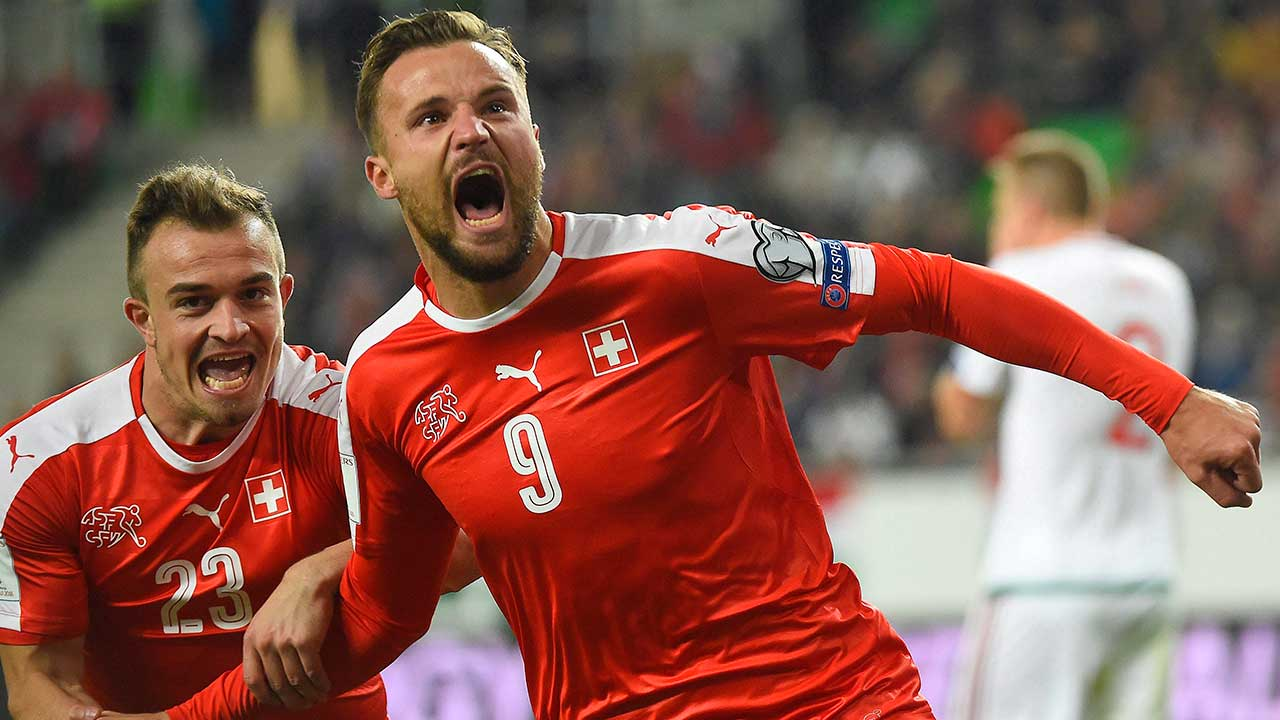 Switzerland forward Haris Seferovic