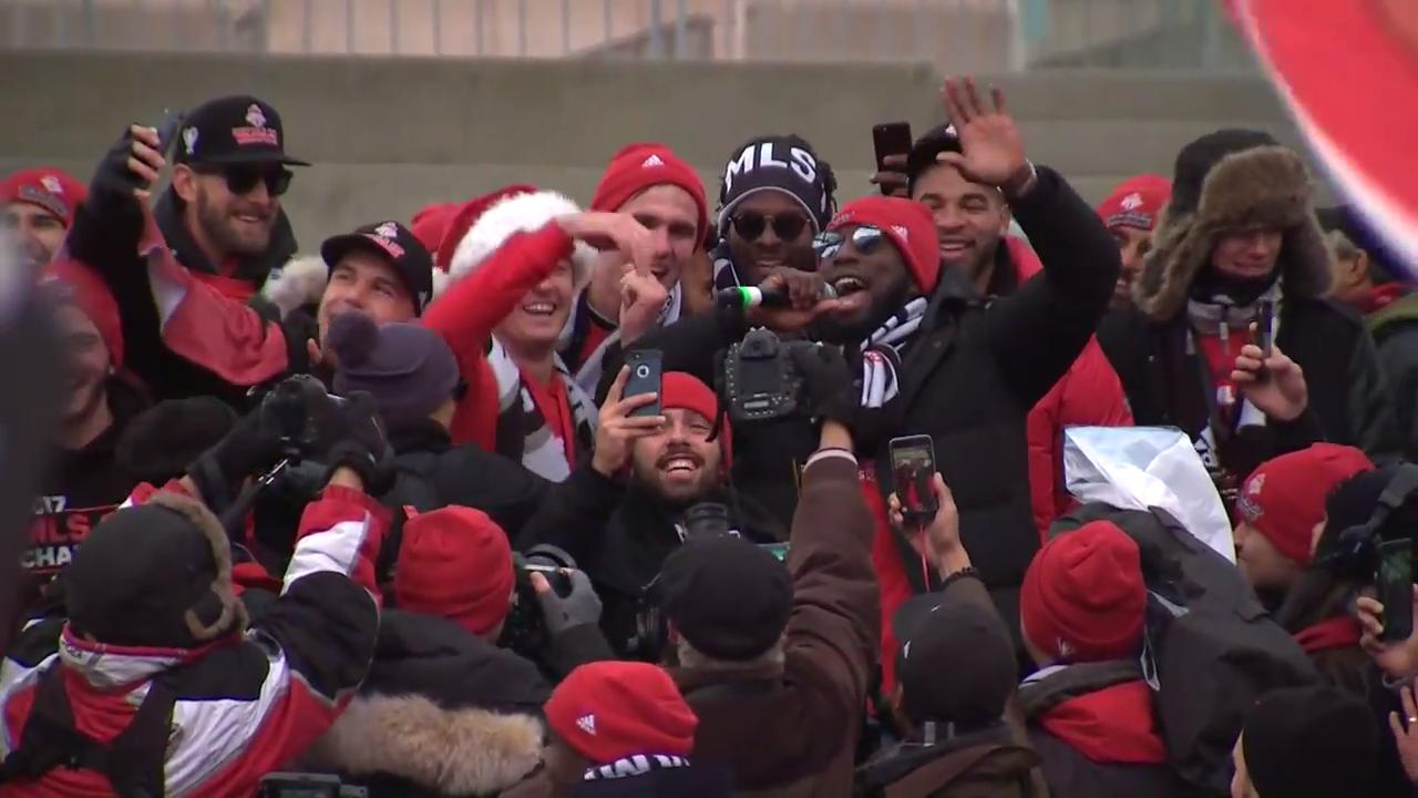 Gotta See It: Altidore mic drop, been partying since Saturday