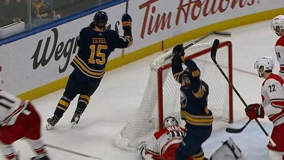 Jack Eichel in right place at right time to tap in easy rebound -  Sportsnet.ca 765c31246