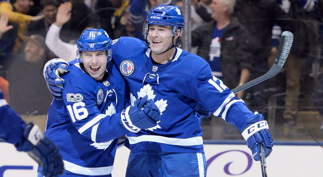 Marleaus Love Of Everyday Grind Should Rub Off On Young Leafs