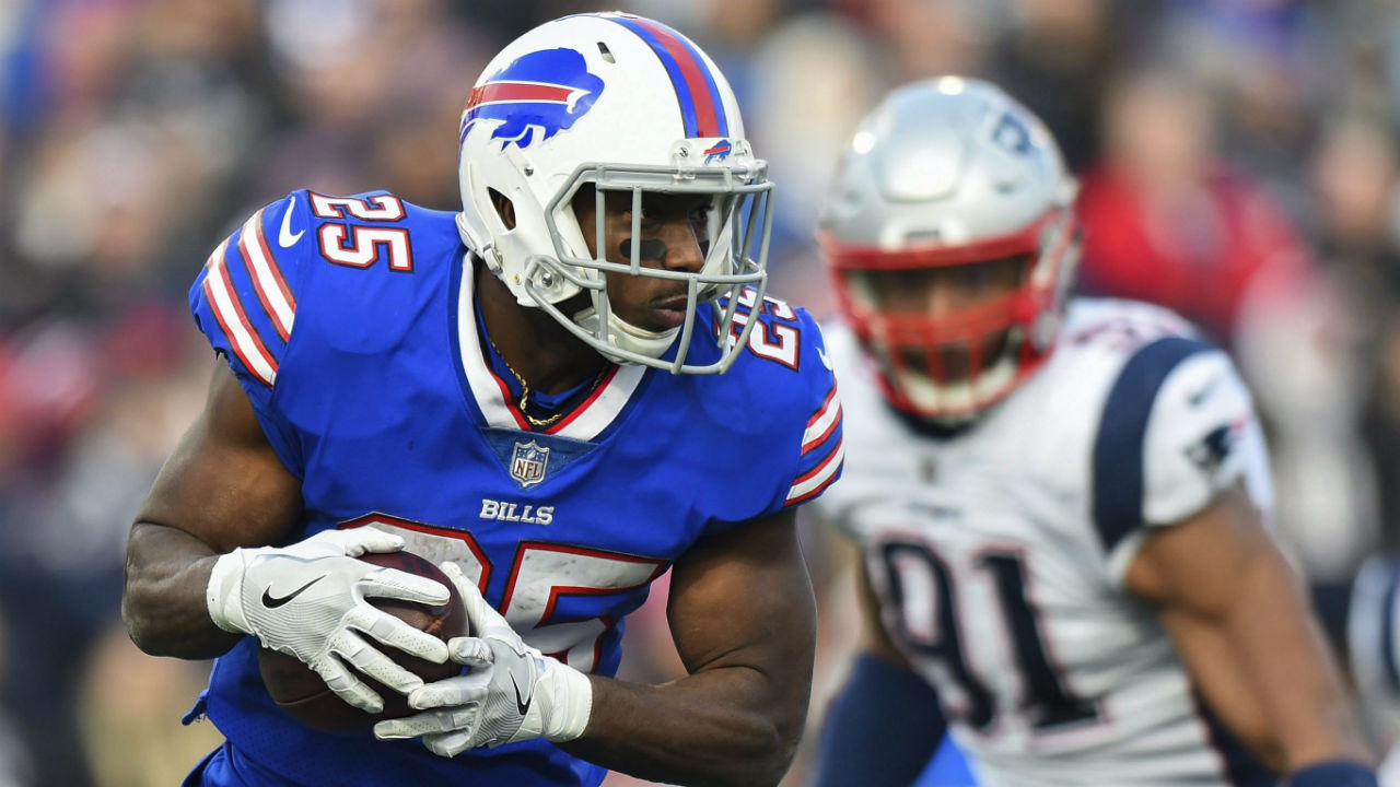 Bills' McCoy denies allegation of domestic violence