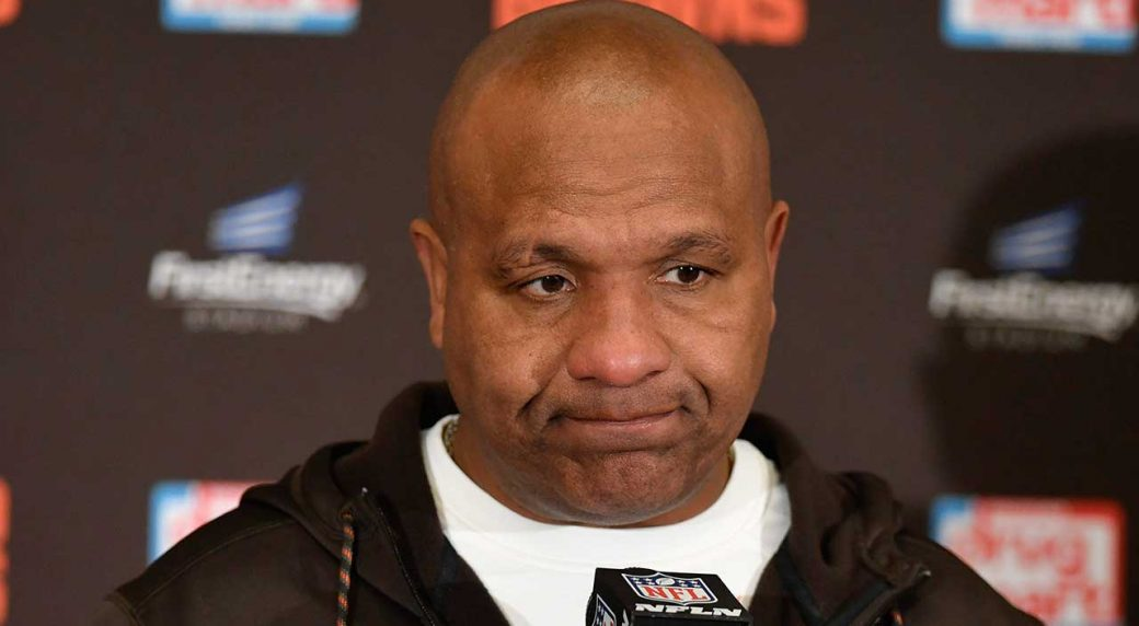 Cleveland Browns sack head coach Hue Jackson after 3-36-1 record
