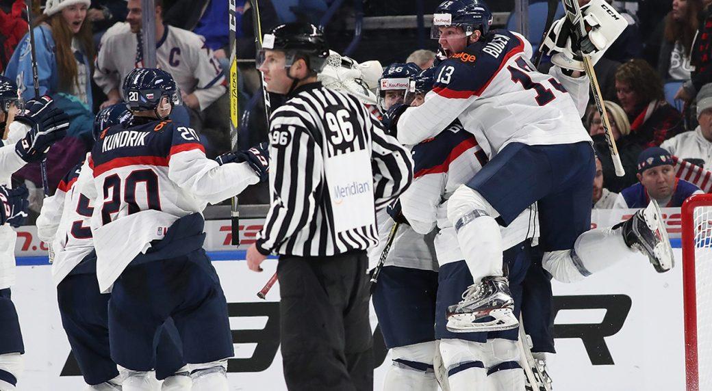 Samuel Bucek scores Datsyuk-ian goal to beat USA