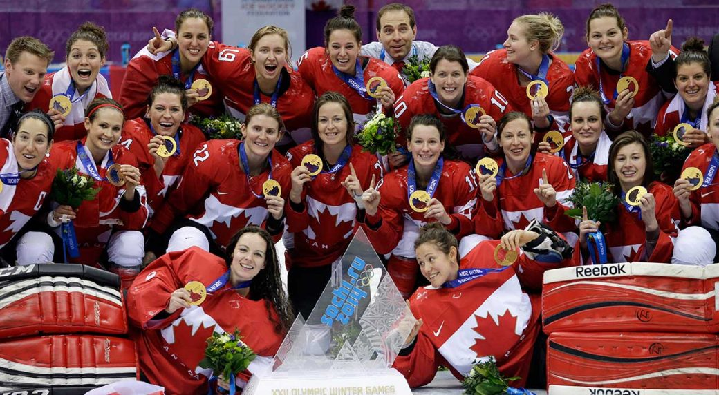 Canadian women's Olympic hockey team announcement