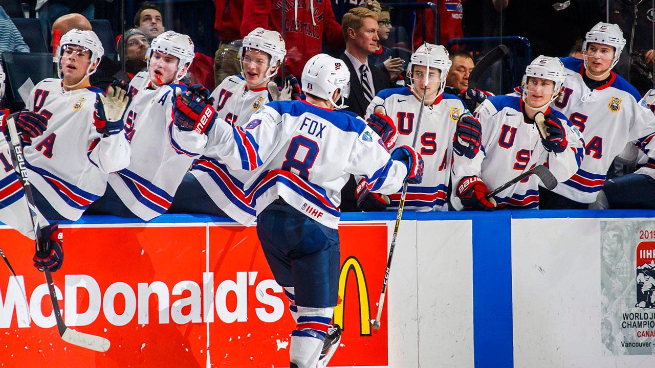 WJC: Adam Fox Lifts Team USA Past Finland In World Juniors
