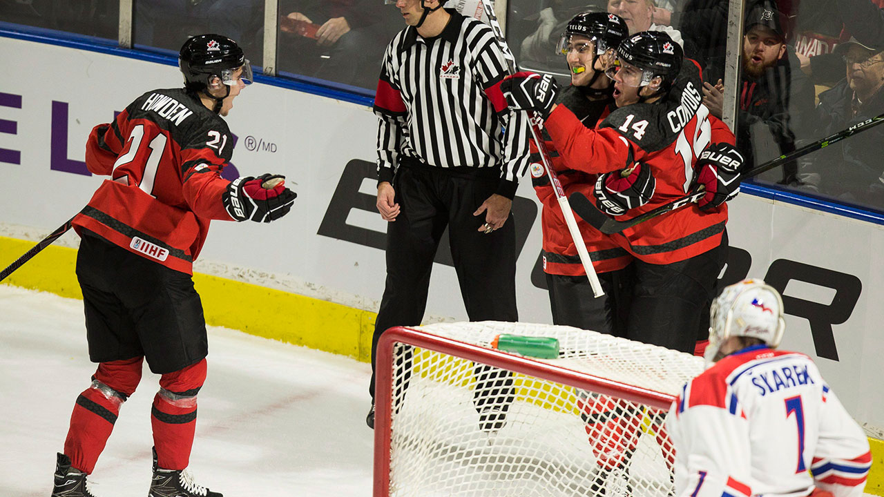 WJC: Carter Hart, Canada's Juniors Rout Czechs In Pre-tournament Game