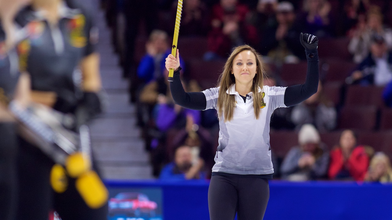 Team Homan feeling in control in front of hometown crowd