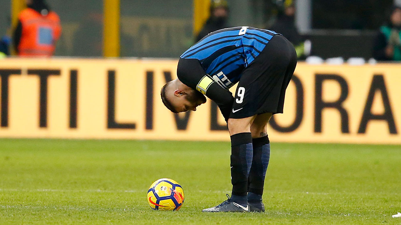 Inter suffers first loss of season with defeat to Udinese