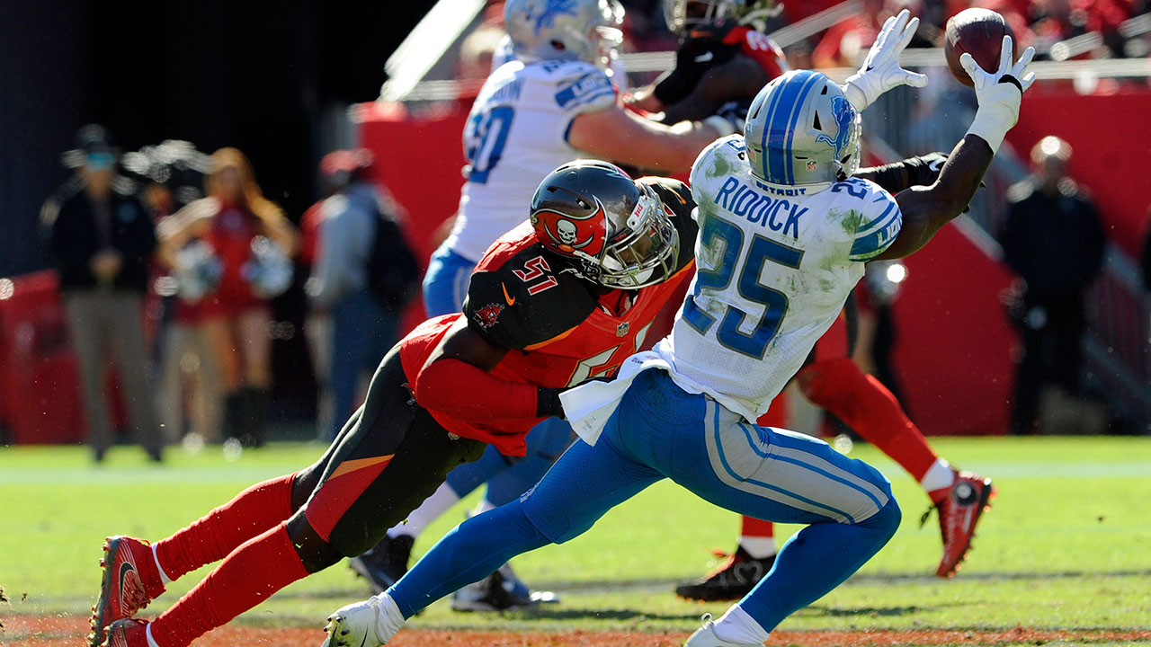 Stafford's 4th winning drive leads Lions over Buccaneers