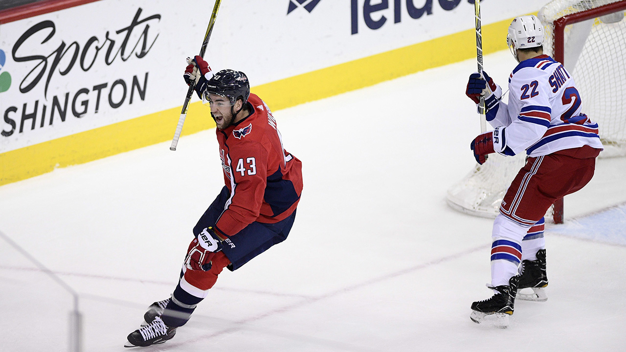 Capitals Rally In Third, Beat Rangers For 4th Consecutive Win