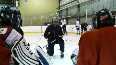 essay newfoundland a place apart but connected to rest of  mike smith gives back to summer hockey camp in watson lake yukon