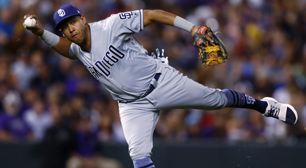 Blue Jays acquirer Yangervis Solarte from Padres