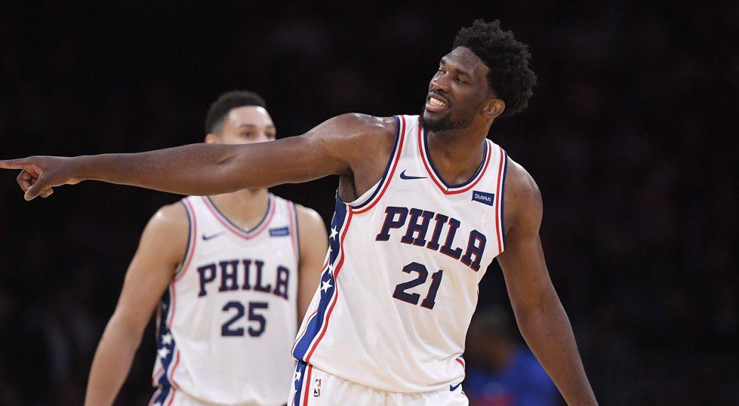 Joel Embiid named starter for 2018 NBA All-Star Game