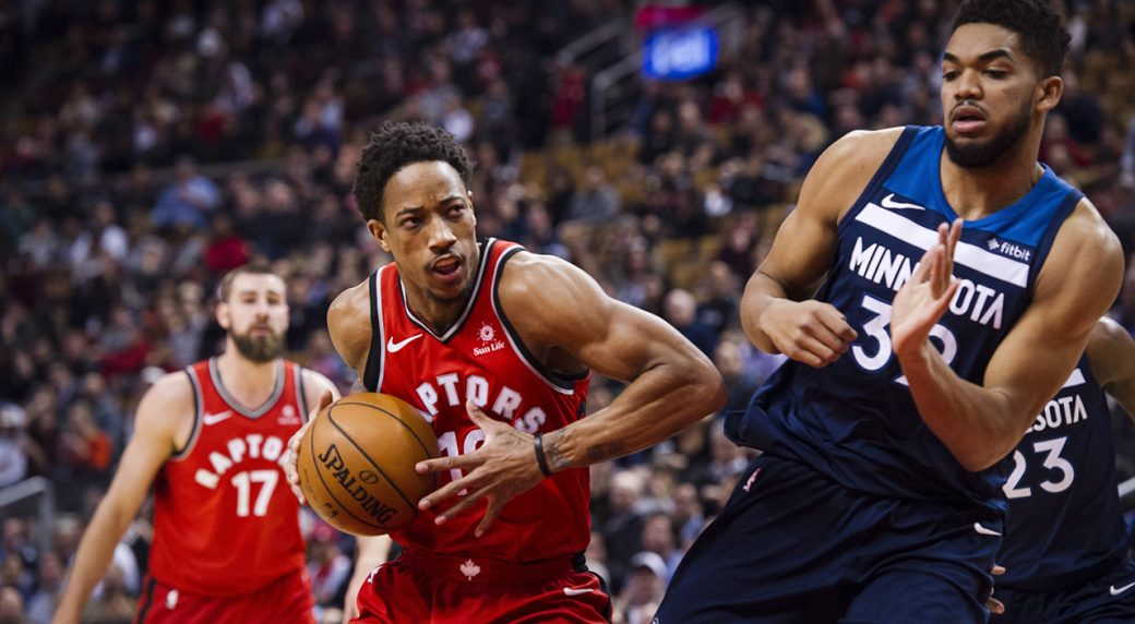 4a0e3db58fad Raptors  DeMar DeRozan named Eastern Conference player of the month ...