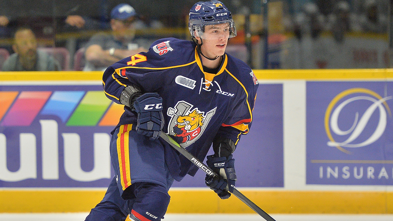 OHL: Roundup - Svechnikov Hat Trick Helps Lift Colts Past Spitfires