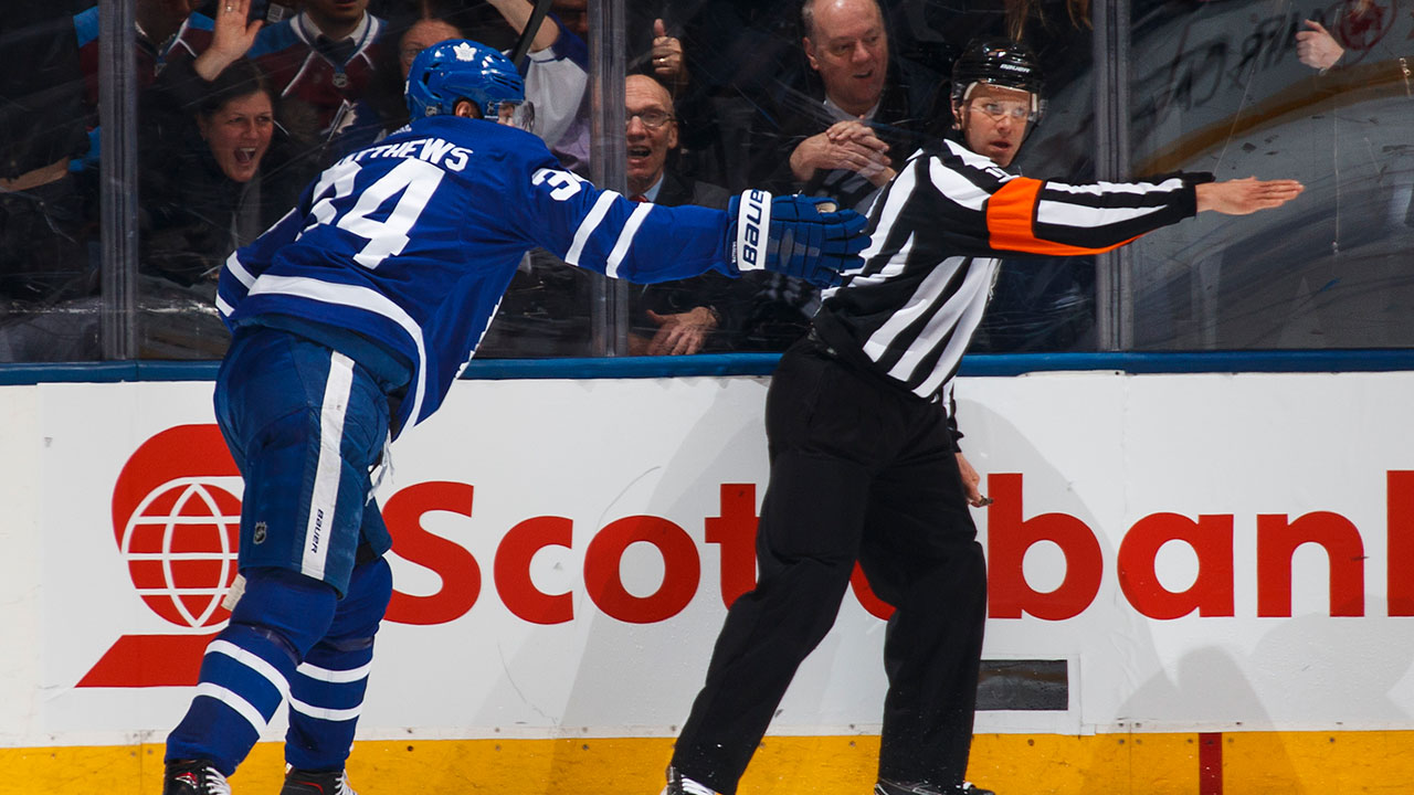 Leafs Star Auston Matthews Flexes Rare Emotion In Goal Celebration