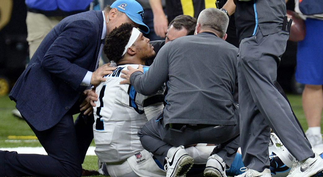NFL, NFLPA reviewing protocol on Cam Newton hit