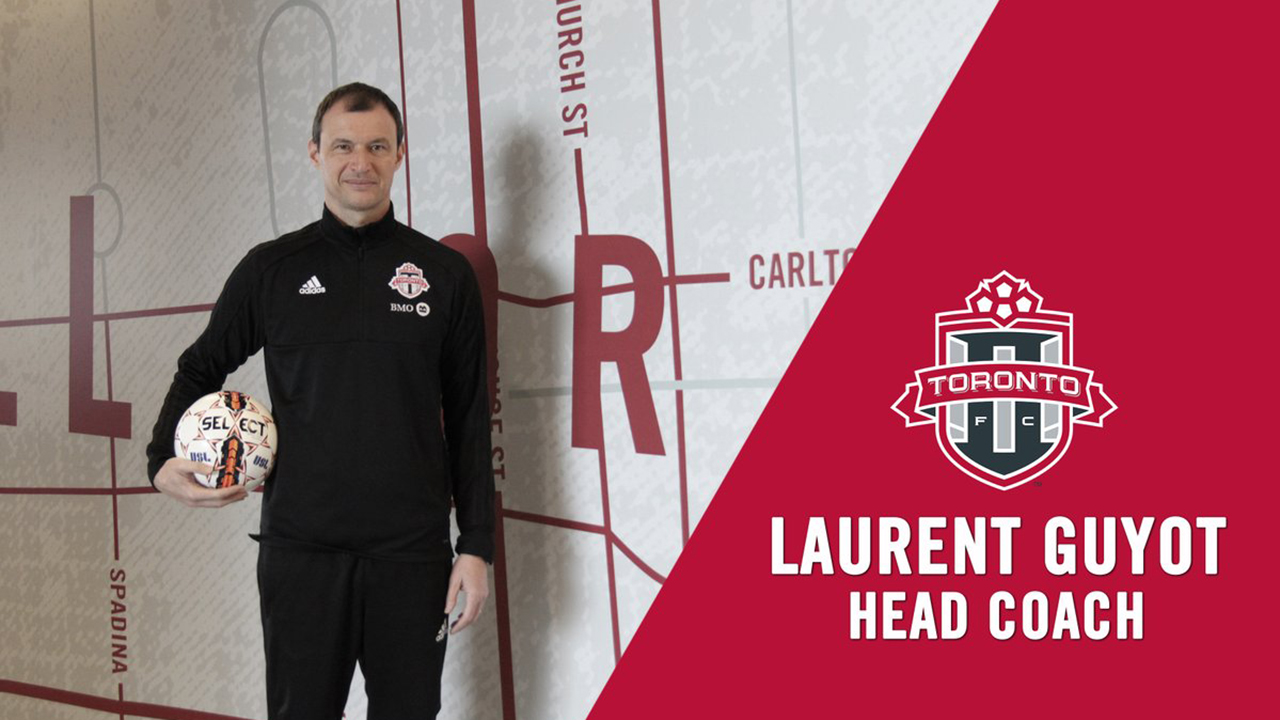 Academy director Laurent Guyot to coach TFC 2 this season