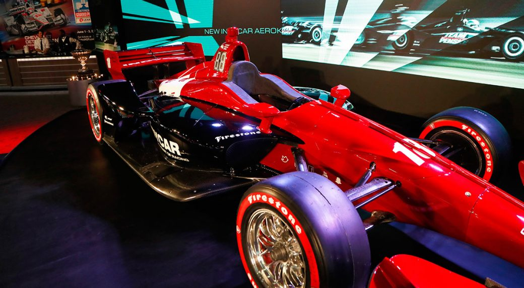 IndyCar Unveils Race Car At Detroit Auto Show Sportsnetca - Upcoming auto shows