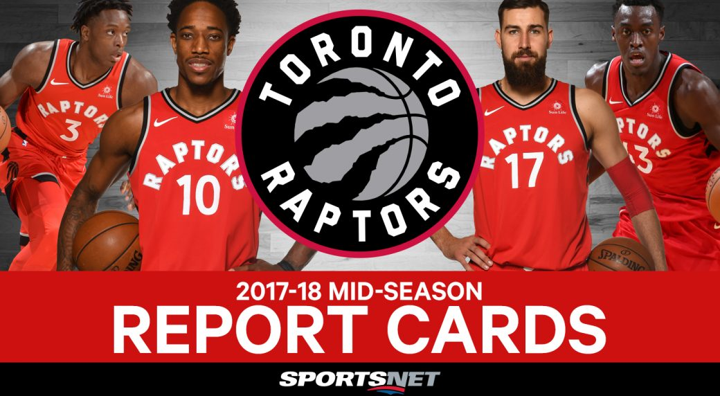 2017-18 Toronto Raptors mid-season report cards