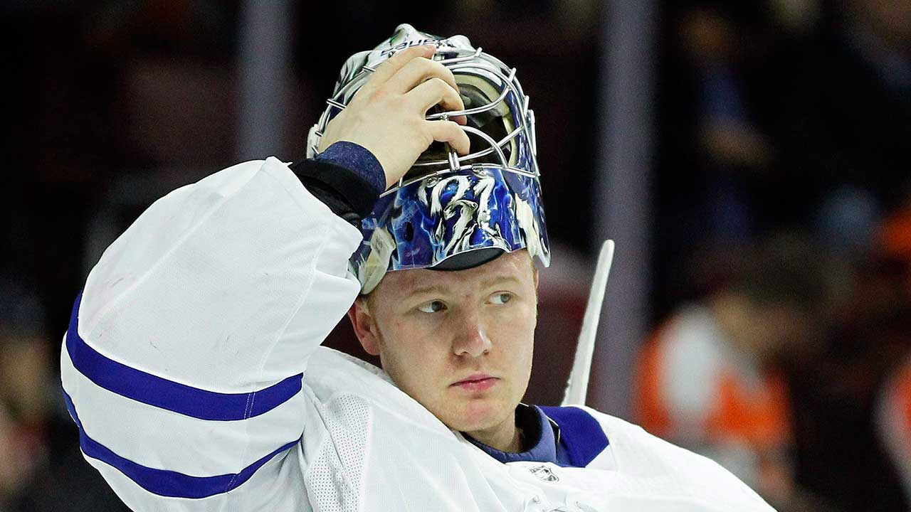 Andersen's Harsh Criticism Exactly What Maple Leafs Needed To Hear