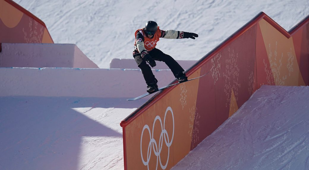 Snowboarders Parrot, McMorris capture silver, bronze at Pyeongchang Olympics