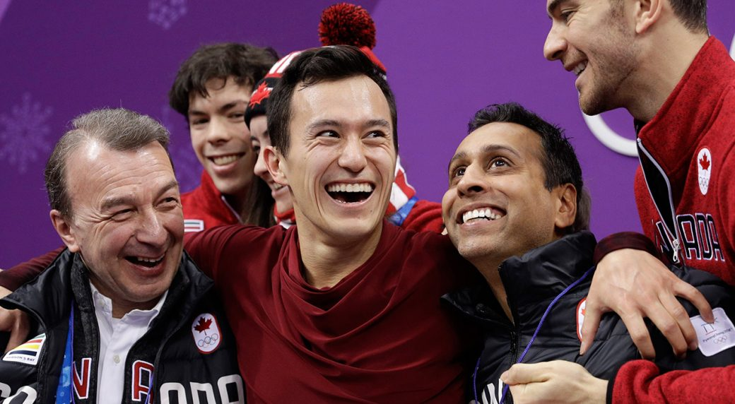 Figure skating - Canada guaranteed gold in team event after Chan, Daleman shine