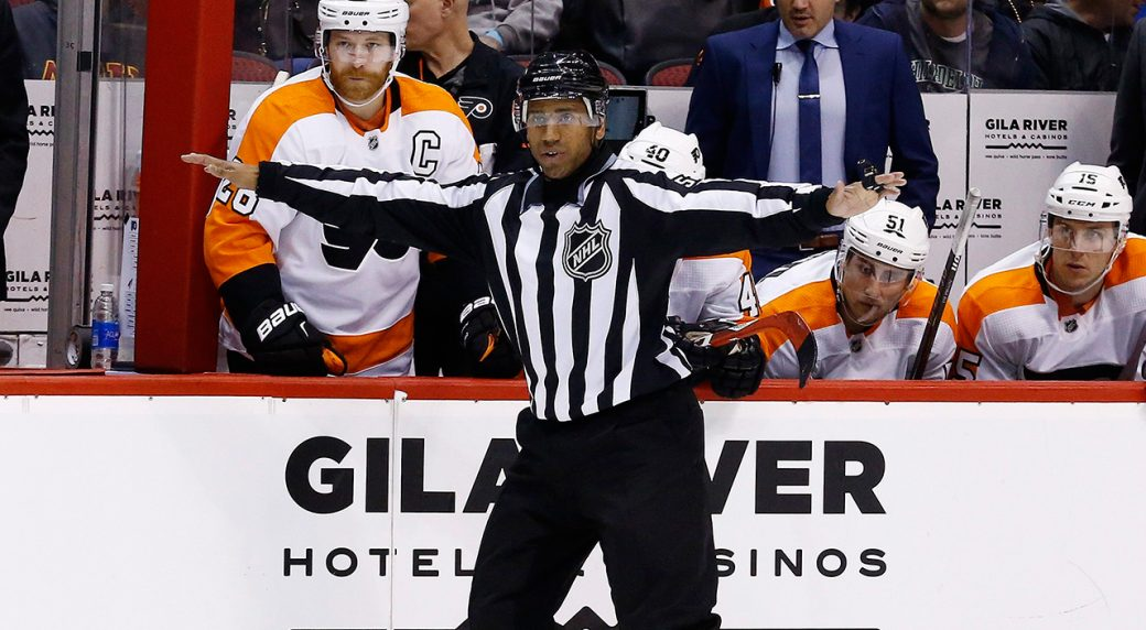 Hockeyn och rf i mote