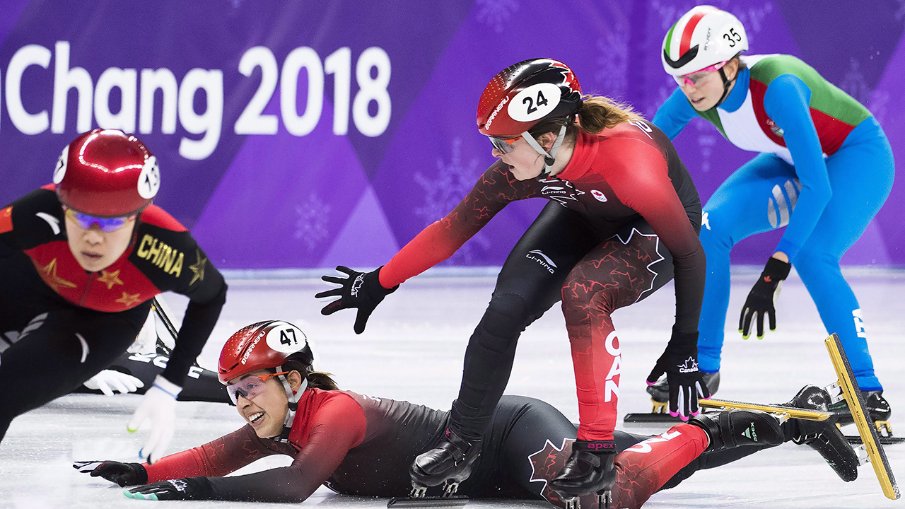 Canada misses podium for first time in women's 3000m relay