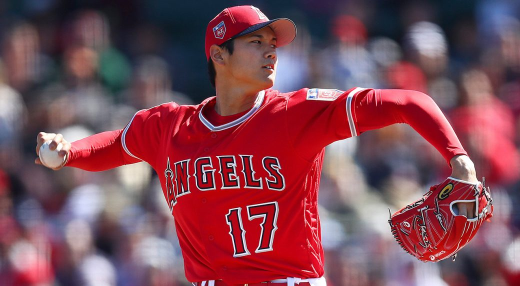ae621f7ed51 Shohei Ohtani struggles in first pitching start with Angels ...