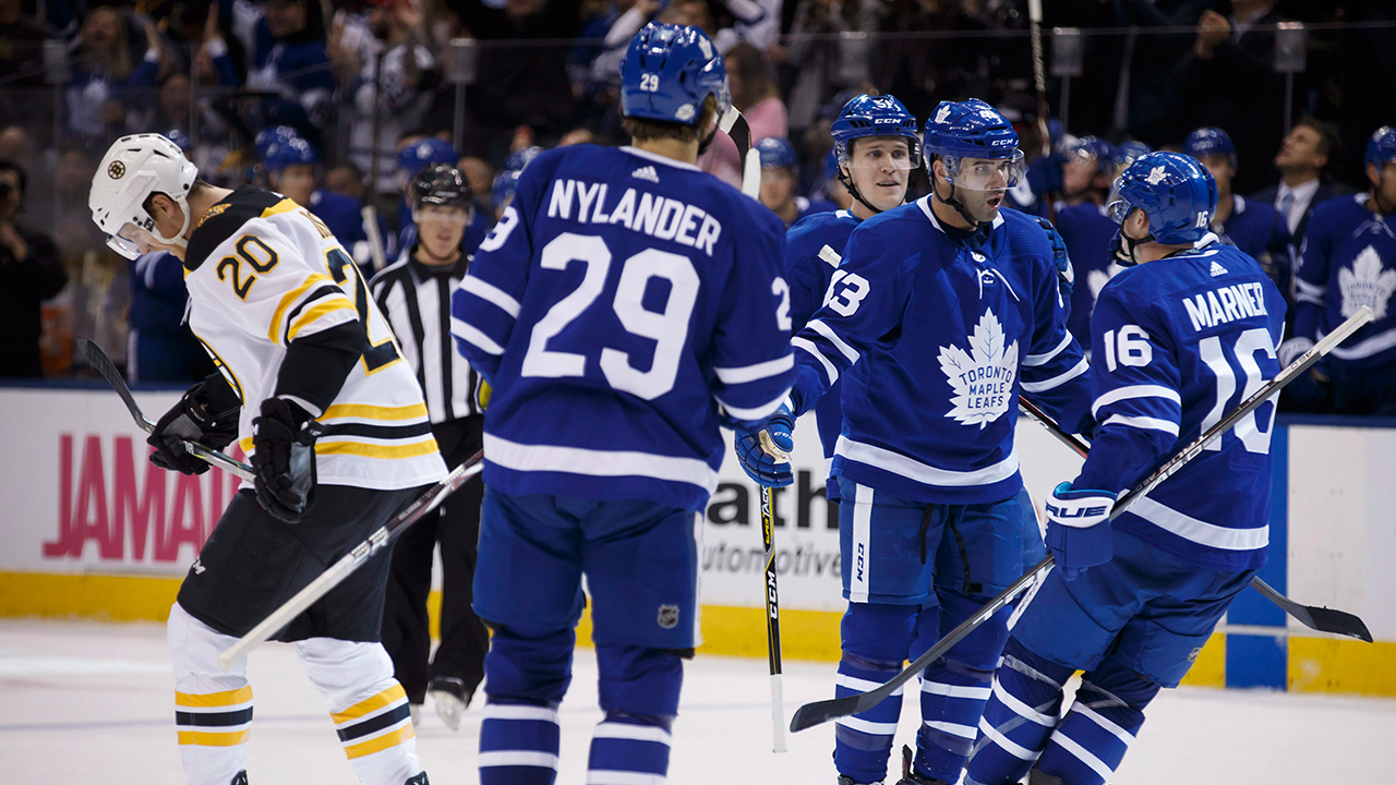 Kadri, Marner Lead Maple Leafs To Ninth Straight Home Win