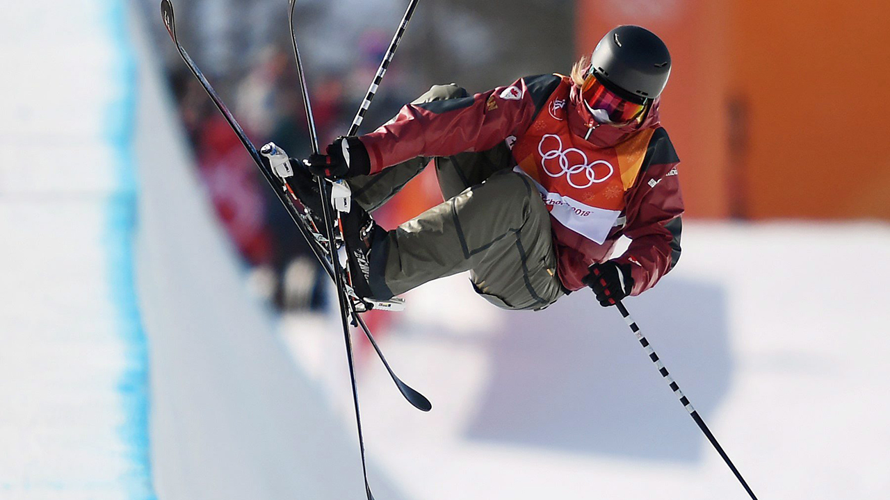 Canada's Cassie Sharpe wins gold medal in freestyle skiing halfpipe