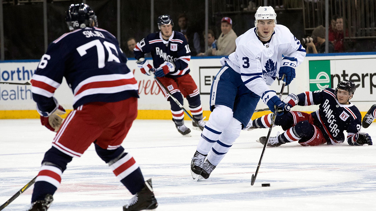 Justin Holl's Historic Goal Ignites Frenzied Maple Leafs Offence