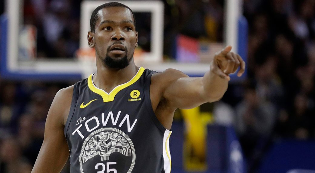 3fc2ae0dbfb4 Kevin Durant of the Golden State Warriors. (Marcio Jose Sanchez AP)