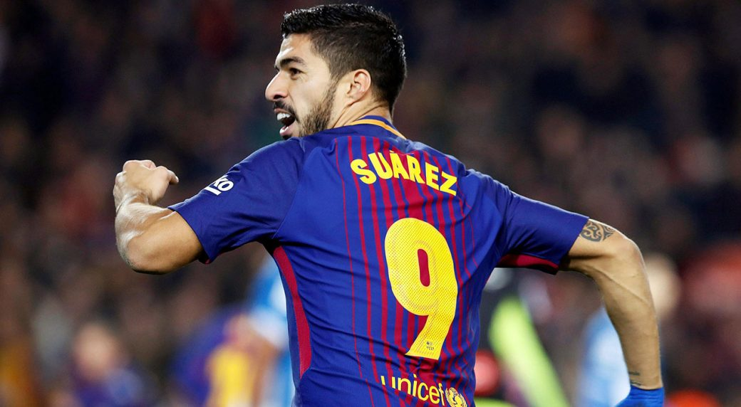 Barcelona's Luis Suarez to miss up to 15 days with ankle ...