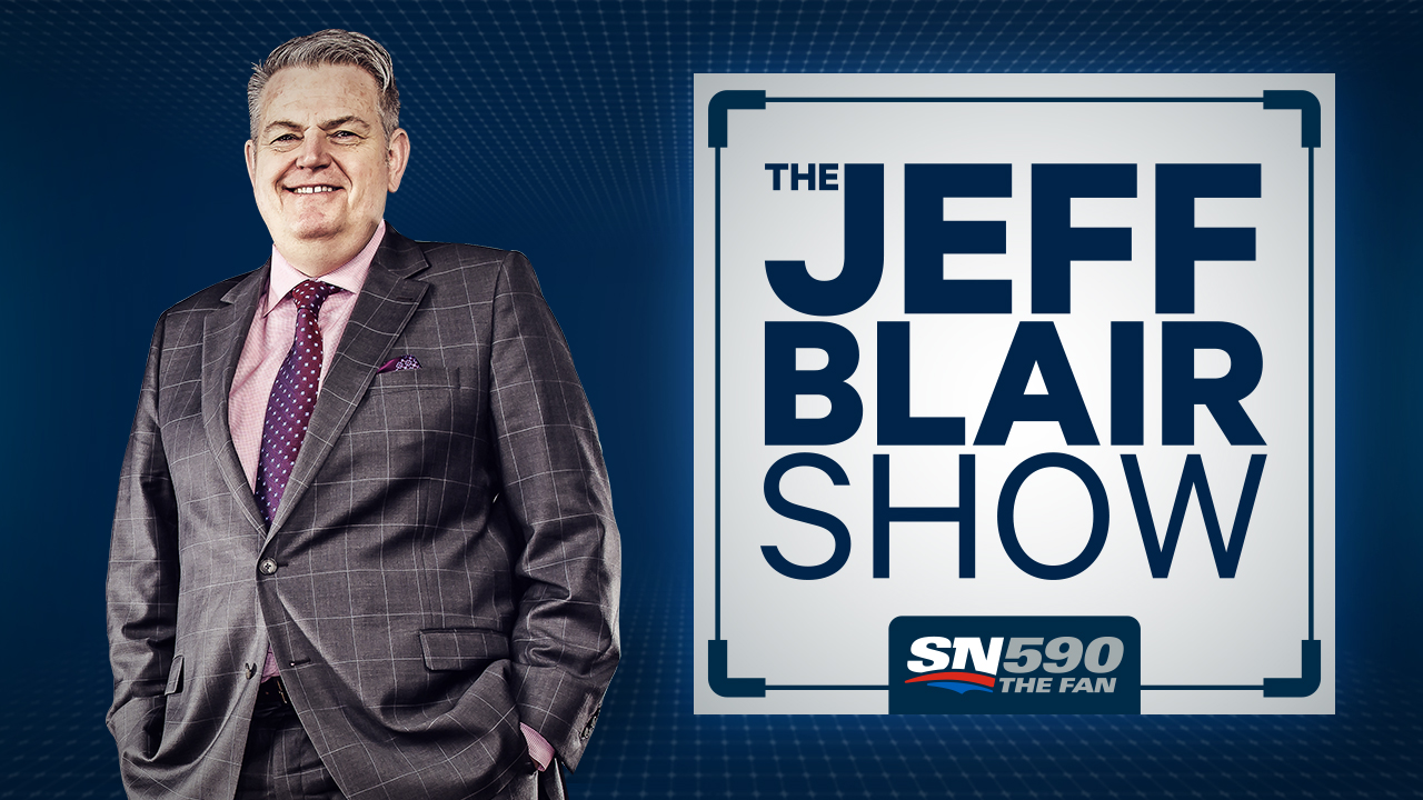 The Jeff Blair Show Logo Image