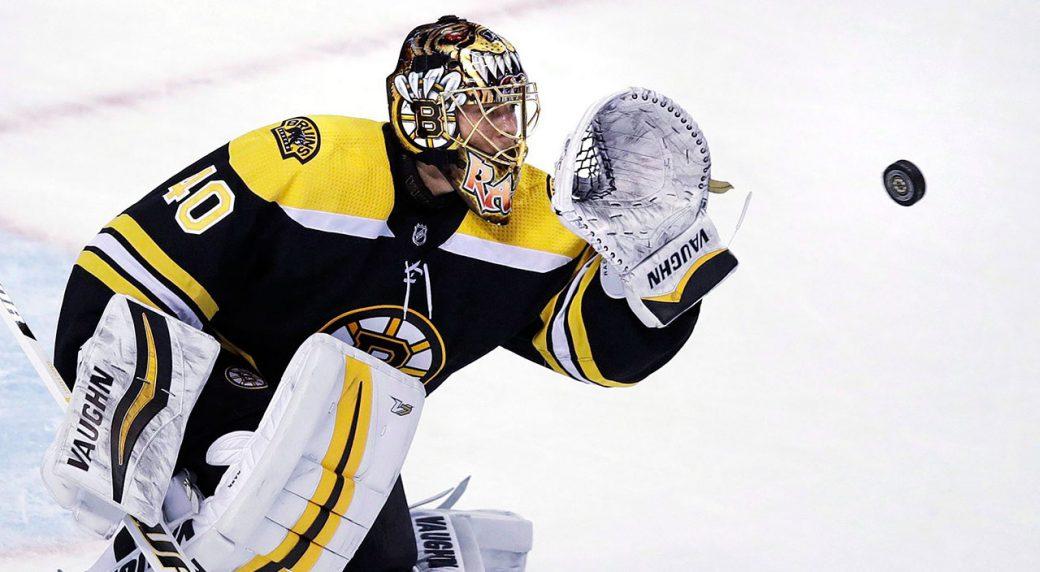 Boston Bruins goaltender Tuukka Rask eyes the puck on a shot. (Charles  Krupa AP) 9ae50be43