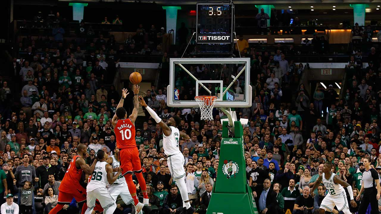 Kyrie Irving's return not enough as Celtics lose to Raptors