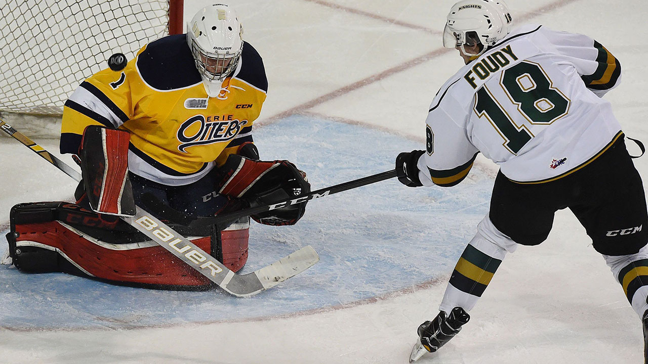 OHL: Roundup - Foudy Scores 2, Including Winner, As Knights Edge Otters